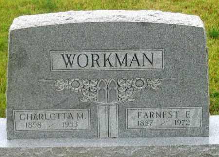 LARASEN/BUEHLER WORKMAN, CHARLOTTA M. - Dundy County, Nebraska | CHARLOTTA M. LARASEN/BUEHLER WORKMAN - Nebraska Gravestone Photos
