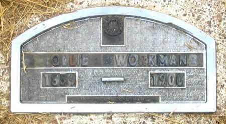 WORKMAN, OLLIE (OLIVE?) - Dundy County, Nebraska | OLLIE (OLIVE?) WORKMAN - Nebraska Gravestone Photos