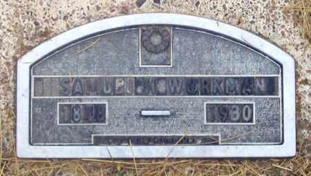 WORKMAN, SAMUEL - Dundy County, Nebraska | SAMUEL WORKMAN - Nebraska Gravestone Photos