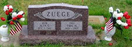 WHEATON ZUEGE, ALTA C. - Dundy County, Nebraska | ALTA C. WHEATON ZUEGE - Nebraska Gravestone Photos
