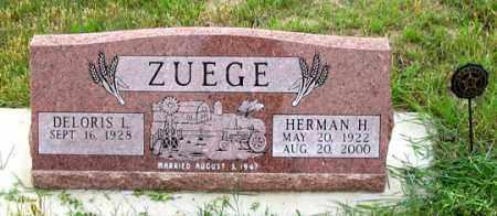 BIER ZUEGE, DELORIS L. - Dundy County, Nebraska | DELORIS L. BIER ZUEGE - Nebraska Gravestone Photos