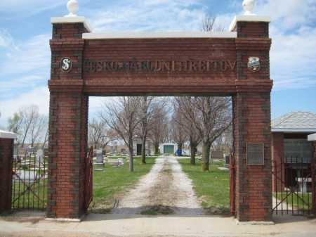 *CZECH NATIONAL, GATE - Fillmore County, Nebraska   GATE *CZECH NATIONAL - Nebraska Gravestone Photos