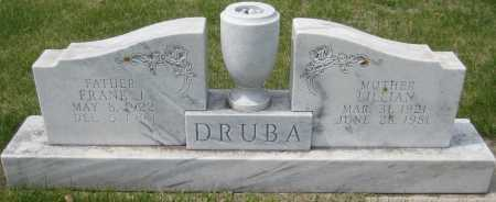 DRUBA, LILLIAN - Fillmore County, Nebraska | LILLIAN DRUBA - Nebraska Gravestone Photos