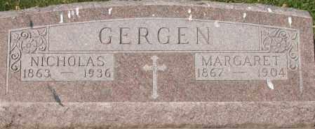 GERGEN, MARGARET - Fillmore County, Nebraska | MARGARET GERGEN - Nebraska Gravestone Photos
