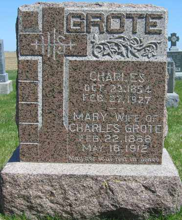 GROTE, MARY - Fillmore County, Nebraska | MARY GROTE - Nebraska Gravestone Photos