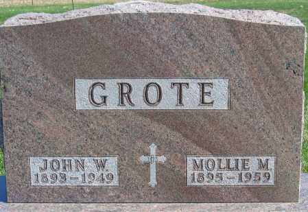 GROTE, MOLLIE - Fillmore County, Nebraska | MOLLIE GROTE - Nebraska Gravestone Photos
