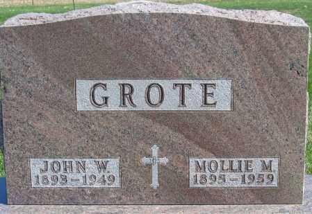 GROTE, JOHN WILLIAM - Fillmore County, Nebraska | JOHN WILLIAM GROTE - Nebraska Gravestone Photos