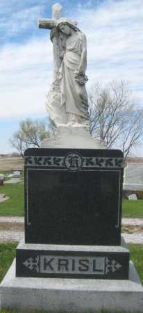 KRISL, FAMILY STONE - Fillmore County, Nebraska | FAMILY STONE KRISL - Nebraska Gravestone Photos
