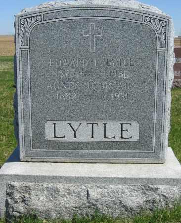LYTLE, AGNES URSULA - Fillmore County, Nebraska | AGNES URSULA LYTLE - Nebraska Gravestone Photos
