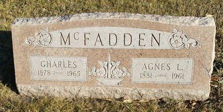 MCFADDEN, CHARLES - Fillmore County, Nebraska | CHARLES MCFADDEN - Nebraska Gravestone Photos