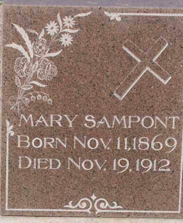 GERGEN SAMPONT, MARY - Fillmore County, Nebraska | MARY GERGEN SAMPONT - Nebraska Gravestone Photos