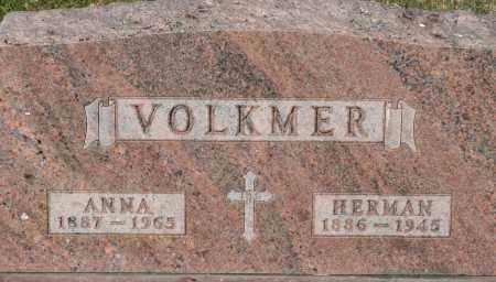 HARWIG VOLKMER, ANNA - Fillmore County, Nebraska | ANNA HARWIG VOLKMER - Nebraska Gravestone Photos