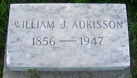 ADKISSON, WILLIAM J. - Frontier County, Nebraska | WILLIAM J. ADKISSON - Nebraska Gravestone Photos