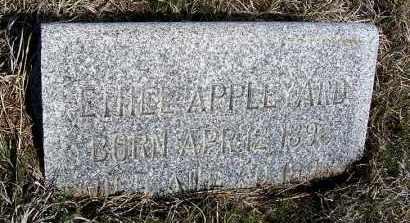 APPLEYARD, ETHEL - Frontier County, Nebraska | ETHEL APPLEYARD - Nebraska Gravestone Photos