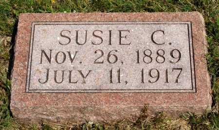 AUSTIN, SUSIE C. - Frontier County, Nebraska   SUSIE C. AUSTIN - Nebraska Gravestone Photos