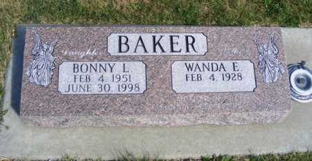 BAKER, WANDA E. - Frontier County, Nebraska   WANDA E. BAKER - Nebraska Gravestone Photos
