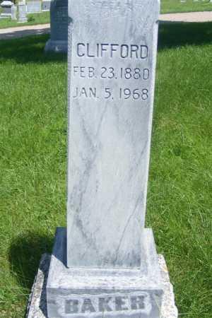 BAKER, CLIFFORD - Frontier County, Nebraska   CLIFFORD BAKER - Nebraska Gravestone Photos