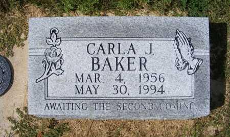 BAKER, CARLA J. - Frontier County, Nebraska | CARLA J. BAKER - Nebraska Gravestone Photos