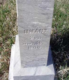 BAKER, INFANT SON - Frontier County, Nebraska   INFANT SON BAKER - Nebraska Gravestone Photos