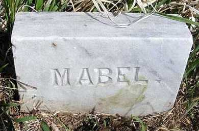 BAKER, MABEL - Frontier County, Nebraska | MABEL BAKER - Nebraska Gravestone Photos