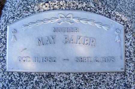 BAKER, MAY - Frontier County, Nebraska   MAY BAKER - Nebraska Gravestone Photos