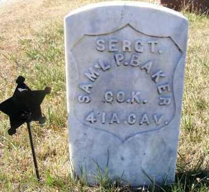 BAKER, SAMUEL P. - Frontier County, Nebraska   SAMUEL P. BAKER - Nebraska Gravestone Photos