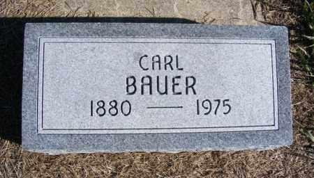 BAUER, CARL - Frontier County, Nebraska | CARL BAUER - Nebraska Gravestone Photos