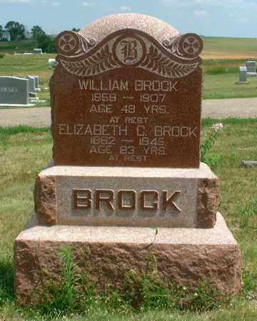 BROCK, WILLIAM - Frontier County, Nebraska | WILLIAM BROCK - Nebraska Gravestone Photos