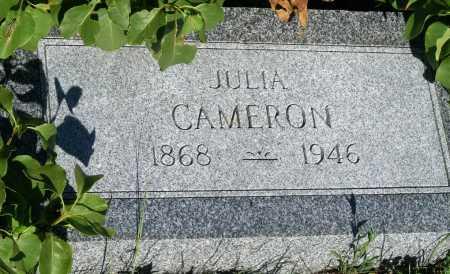 CAMERON, JULIA - Frontier County, Nebraska   JULIA CAMERON - Nebraska Gravestone Photos