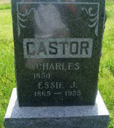 CASTOR, ESSIE J. - Frontier County, Nebraska | ESSIE J. CASTOR - Nebraska Gravestone Photos