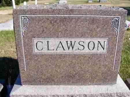 CLAWSON, FAMILY - Frontier County, Nebraska   FAMILY CLAWSON - Nebraska Gravestone Photos