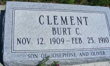 CLEMENT, BURT C. - Frontier County, Nebraska   BURT C. CLEMENT - Nebraska Gravestone Photos