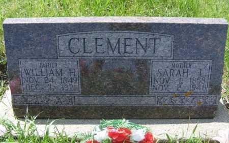 CLEMENT, WILLIAM H. - Frontier County, Nebraska | WILLIAM H. CLEMENT - Nebraska Gravestone Photos