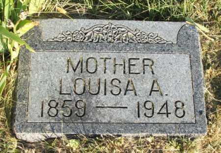 CROSSGROVE, LOUISA A. - Frontier County, Nebraska | LOUISA A. CROSSGROVE - Nebraska Gravestone Photos