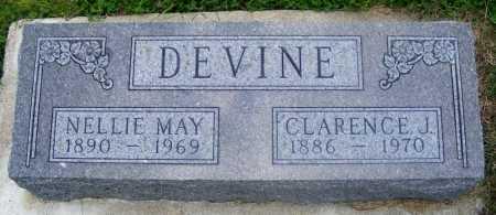 DEVINE, NELLIE MAY - Frontier County, Nebraska   NELLIE MAY DEVINE - Nebraska Gravestone Photos
