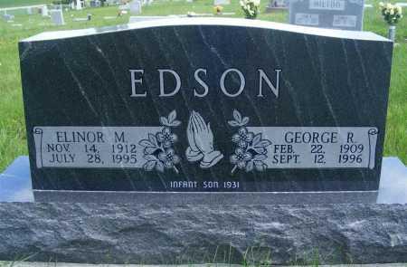EDSON, GEORGE R. - Frontier County, Nebraska | GEORGE R. EDSON - Nebraska Gravestone Photos