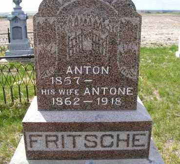 FRITSCHE, ANTON - Frontier County, Nebraska | ANTON FRITSCHE - Nebraska Gravestone Photos