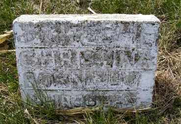 FRITSCHE, CHRISTINA - Frontier County, Nebraska | CHRISTINA FRITSCHE - Nebraska Gravestone Photos
