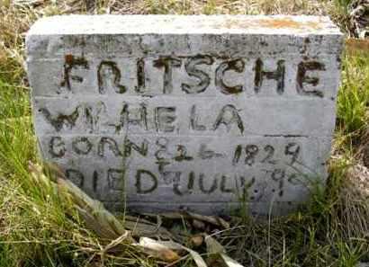 FRITSCHE, WILHELM - Frontier County, Nebraska | WILHELM FRITSCHE - Nebraska Gravestone Photos