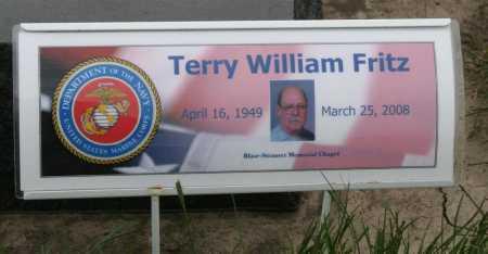 FRITZ, TERRY WILLIAM - Frontier County, Nebraska | TERRY WILLIAM FRITZ - Nebraska Gravestone Photos