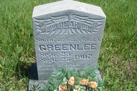 GREENLEE, BABY BOY - Frontier County, Nebraska   BABY BOY GREENLEE - Nebraska Gravestone Photos