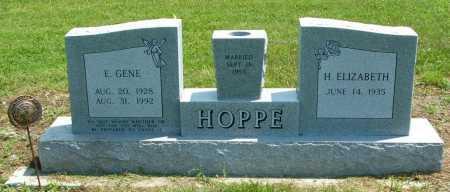 HOPPE, E. GENE - Frontier County, Nebraska | E. GENE HOPPE - Nebraska Gravestone Photos