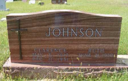 JOHNSON, CLARENCE - Frontier County, Nebraska | CLARENCE JOHNSON - Nebraska Gravestone Photos