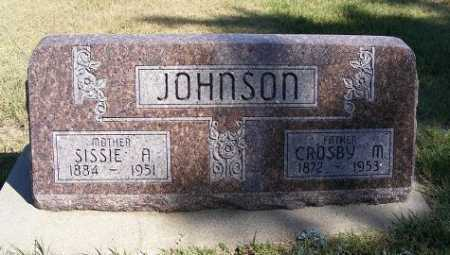 JOHNSON, SISSIE A. - Frontier County, Nebraska | SISSIE A. JOHNSON - Nebraska Gravestone Photos
