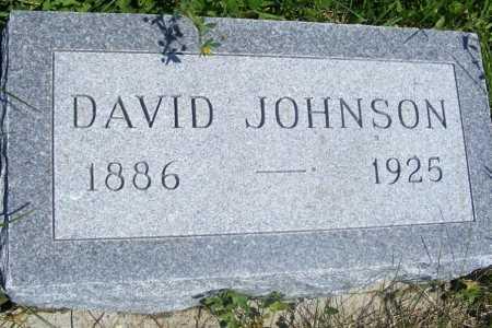 JOHNSON, DAVID - Frontier County, Nebraska | DAVID JOHNSON - Nebraska Gravestone Photos