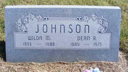 JOHNSON, DEAN R. - Frontier County, Nebraska | DEAN R. JOHNSON - Nebraska Gravestone Photos