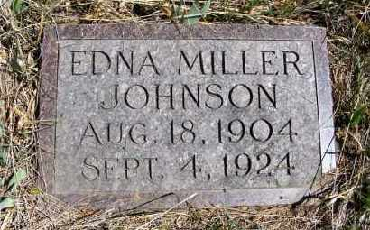 JOHNSON, EDNA - Frontier County, Nebraska | EDNA JOHNSON - Nebraska Gravestone Photos