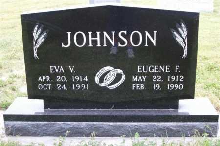 JOHNSON, EVA V. - Frontier County, Nebraska | EVA V. JOHNSON - Nebraska Gravestone Photos