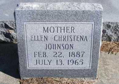 JOHNSON, ELLEN CHRISTENA - Frontier County, Nebraska | ELLEN CHRISTENA JOHNSON - Nebraska Gravestone Photos