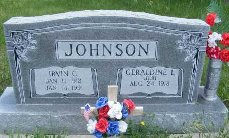 JOHNSON, IRVIN C. - Frontier County, Nebraska | IRVIN C. JOHNSON - Nebraska Gravestone Photos